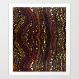 Golden Corral Art Print