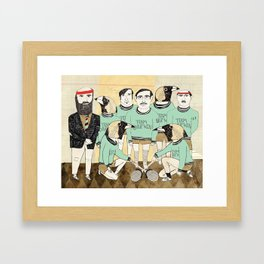 Team Darwin Framed Art Print