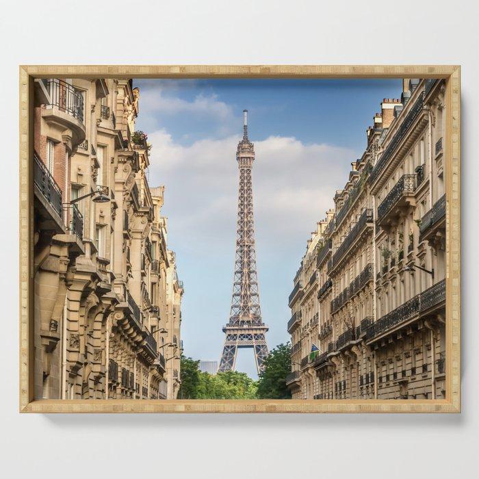 Parisian Flair Serving Tray