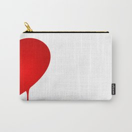 Half Heart Man Carry-All Pouch