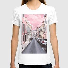 pink everything T-shirt