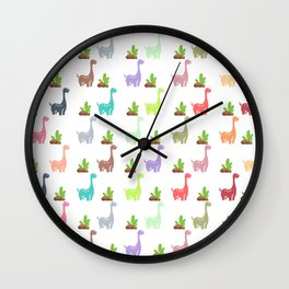 Dinosaur World Wall Clock