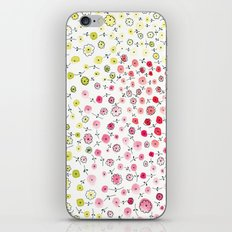 Tiny flowers iPhone Skin
