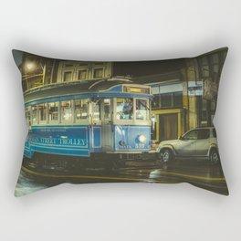 Trolley- Memphis Photo Print Rectangular Pillow