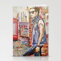 niall Stationery Cards featuring Niall by Iván Gabela