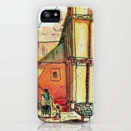 Templo San Francisco iPhone Case