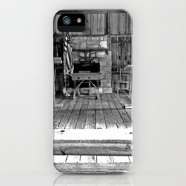One Room School House iPhone Case