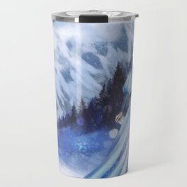 Snow Queen Heart of Ice book by KM Shea Travel Mug