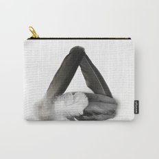 Feather Triangle Carry-All Pouch
