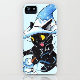 Winter Witchery iPhone Case