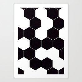hexa Art Print