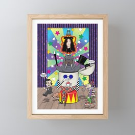Eggman Framed Mini Art Print