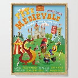 Medieval festival Serving Tray