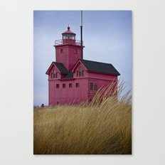 The Lighthouse Big Red in Holland Michigan No 0153 Canvas Print