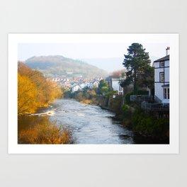 River Dee Art Print