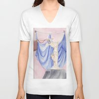 nike V-neck T-shirts featuring Nike by Katerina Skassi