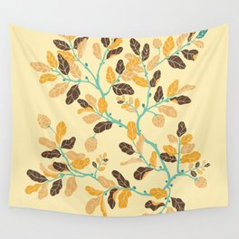 Crisp Autumn Branches Wall Tapestry