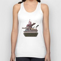 military Tank Tops featuring Military-Industrial Complex by James Tuer