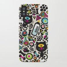 Black cats. iPhone X Slim Case