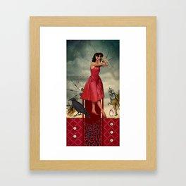 Wrath (7 Deadly Sins Series) Framed Art Print