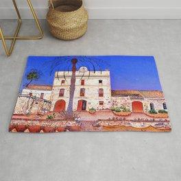 Joan Miro House with Palm Tree Rug