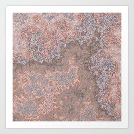 Stone Slab II Art Print