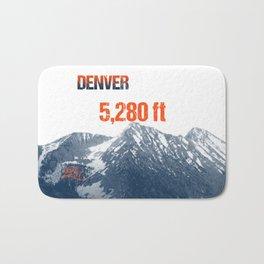 Cities Of America: Denver Bath Mat