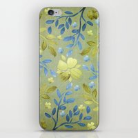 charmaine olivia iPhone & iPod Skins featuring Olivia by Lisa Argyropoulos