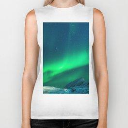 Northern Lights (Aurora Borealis) 1. Biker Tank