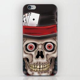 Dead Man's Hand iPhone Skin