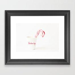 Christmas days Framed Art Print