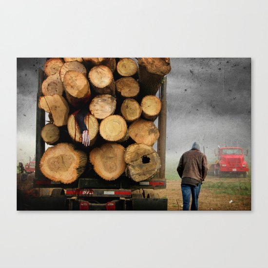 3's A Crowd Canvas Print