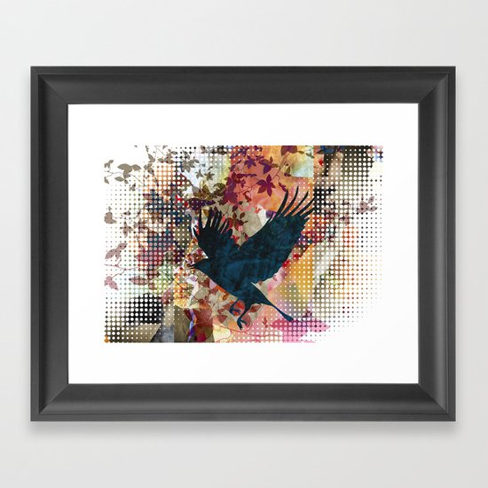 It's time to land.. Framed Art Print