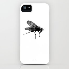 Pretty Giant Fly for Insect Lovers iPhone Case