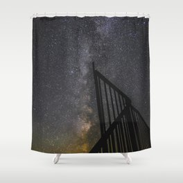 Country Milky Way Shower Curtain