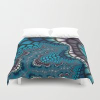 egyptian Duvet Covers featuring Egyptian Goddess by Christy Leigh
