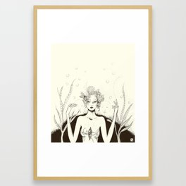 Metamorfos Framed Art Print