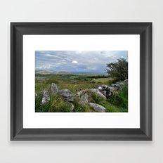 Slowly the Landscape Changes.... Framed Art Print