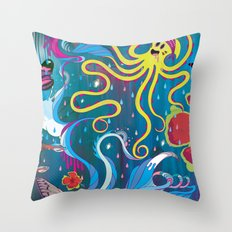Every Time a Whale Blows Their Spout, a New Dream is Born. Throw Pillow