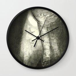 """Odilon Redon """"Profile of Light (Profil de lumière)"""" Wall Clock"""