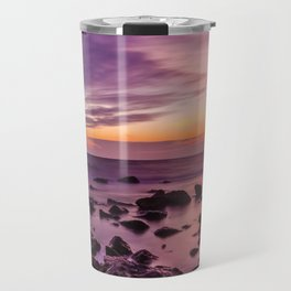 Waterscape with Sunset Travel Mug