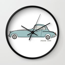 Jaguar XK150 Wall Clock