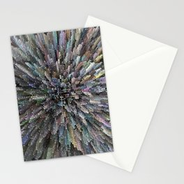 Block crystals Stationery Cards