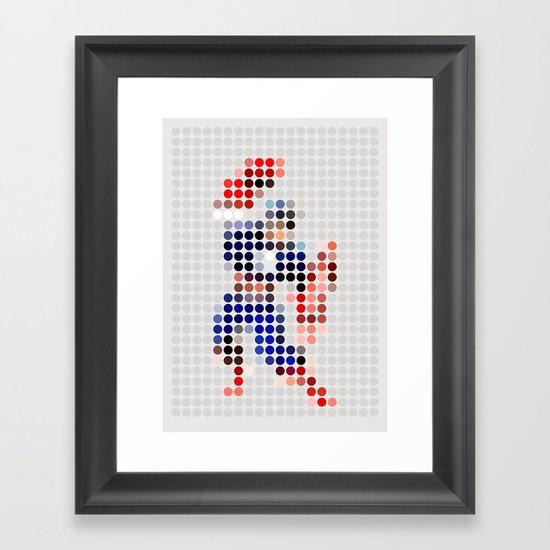Mr A Framed Art Print