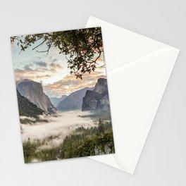 Sunrise In Yosemite 1-3-18 Stationery Cards