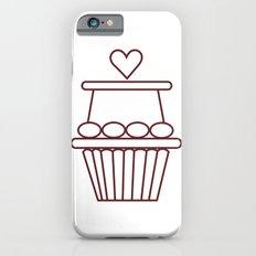 Cupcake Heart iPhone 6s Slim Case
