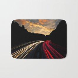 Highway to Adventure Bath Mat