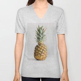 Ananas photo Unisex V-Neck