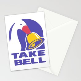 Cute Goose TAKE BELL Taco Bell Untitled Goose Game Meme Design Stationery Cards