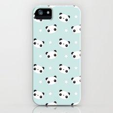 Panda in love Slim Case iPhone (5, 5s)